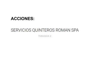 Remate 50 Acciones Sociedad Servicios Quinteros Roman SpA